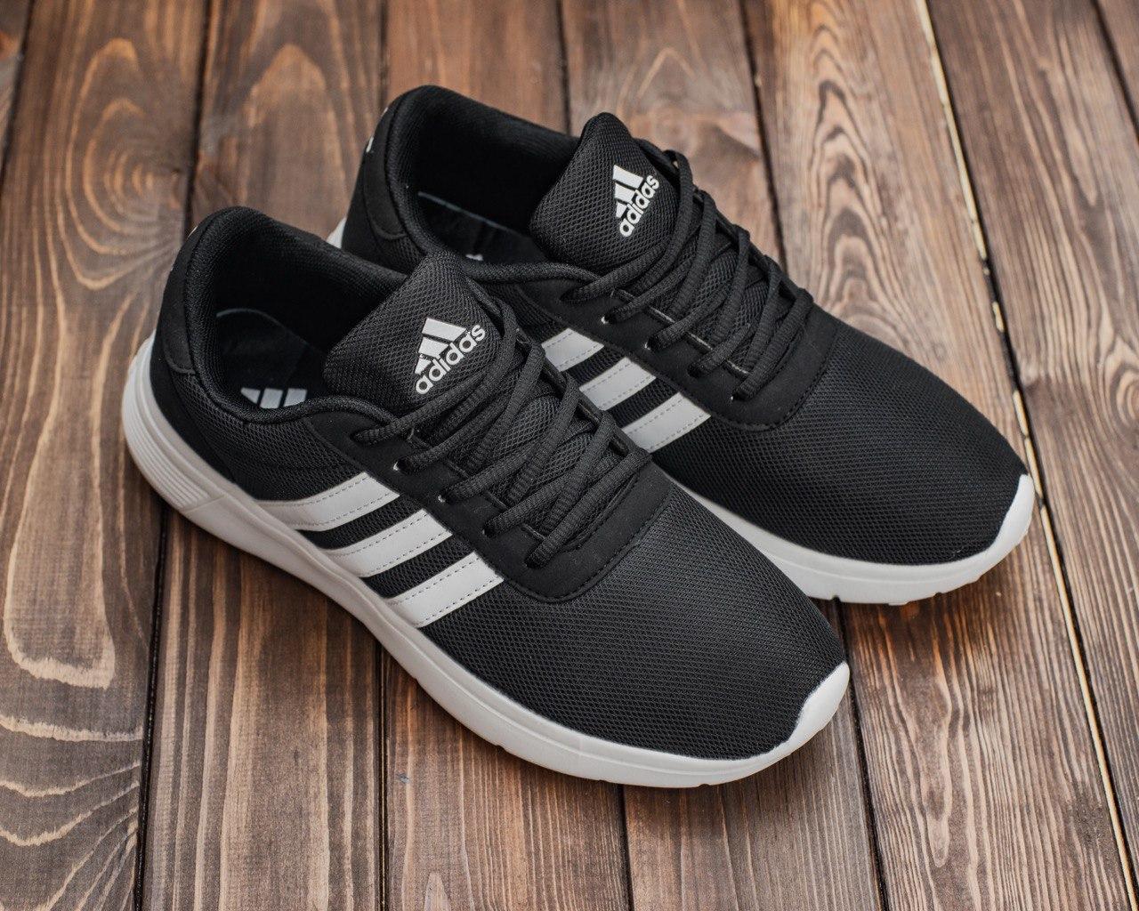Чоловічі кросівки чорним кольором Адідас