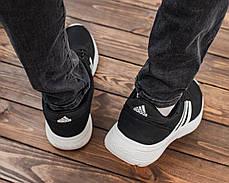 Чоловічі кросівки чорним кольором Адідас, фото 2