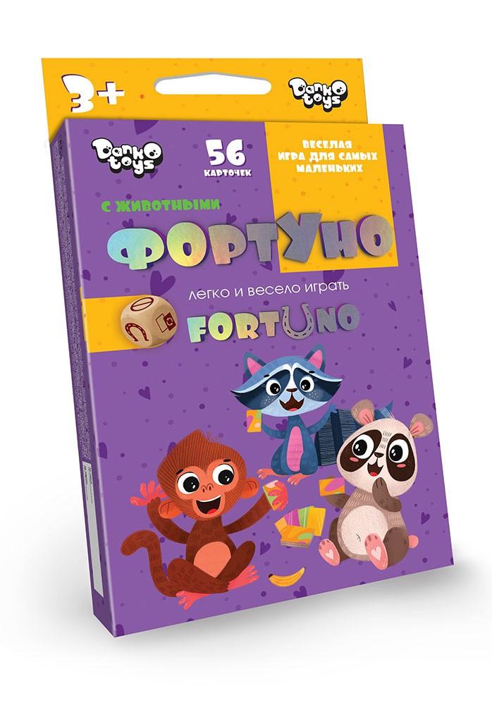 Игра Danko Toys Фортуно-Fortuno 56 карт (Рус) (UF-01-01)