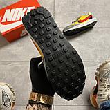Мужские кроссовки Nike LD Waffle Sacai, мужские кроссовки найк вафл сакаи, фото 8