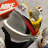 Мужские кроссовки Nike LD Waffle Sacai, мужские кроссовки найк вафл сакаи, фото 7