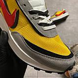 Мужские кроссовки Nike LD Waffle Sacai, мужские кроссовки найк вафл сакаи, фото 5
