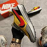 Мужские кроссовки Nike LD Waffle Sacai, мужские кроссовки найк вафл сакаи, фото 2