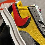 Мужские кроссовки Nike LD Waffle Sacai, мужские кроссовки найк вафл сакаи, фото 6