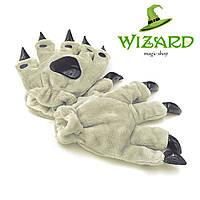 Лапы-перчатки Кигуруми серые