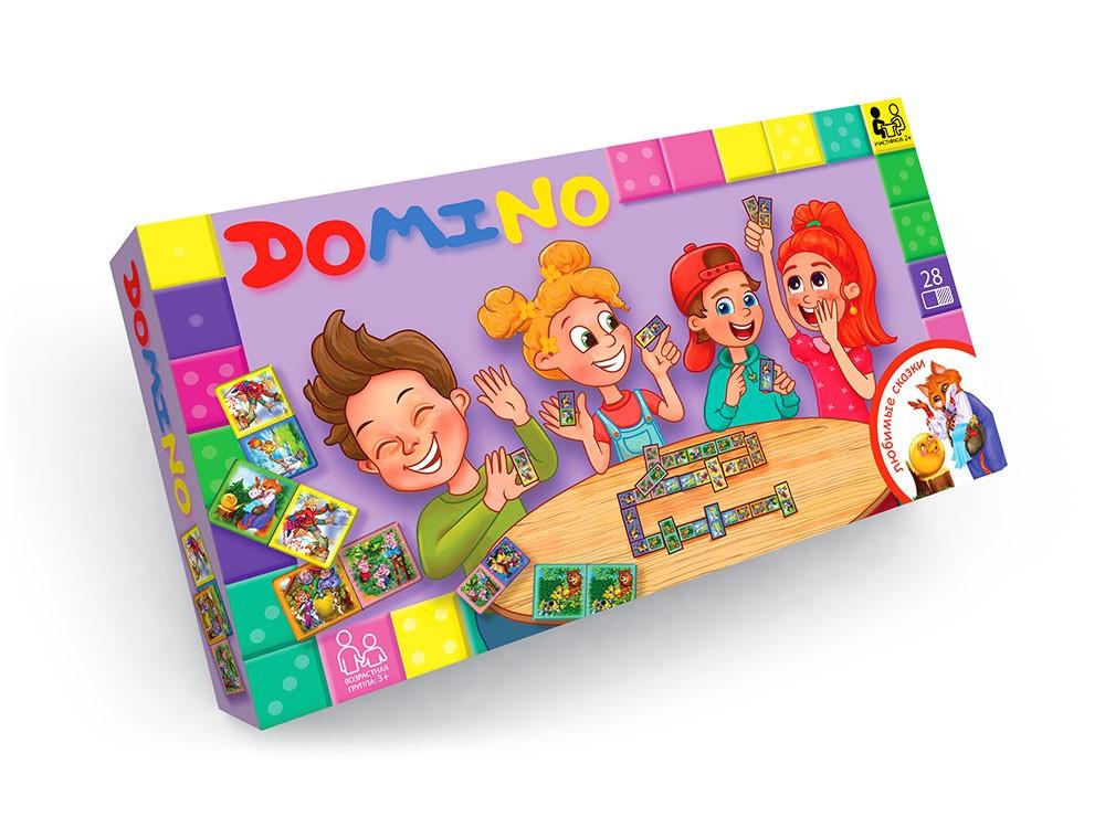 Игра Danko Toys Домино (Рус) (DT-G-DMN-01-01)