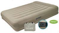 Односпальная кровать с подголовником (99х191х38 см.) Intex- 67742, фото 1