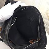 Сумка месенджер чоловіча від Луї Вітон, шкіряна репліка, фото 2