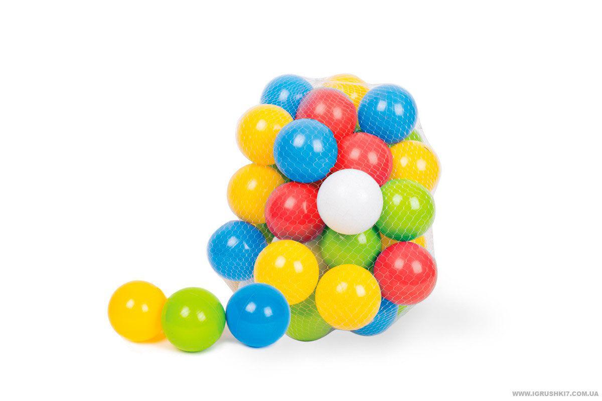 Набор шарики 80 мм в сетке 60 штук ТЕХНОК 4333