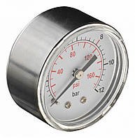 Манометр для сжатого воздуха, диаметр 60 мм, диапазон давления 0-12 бар NEO 12-586