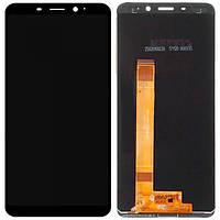 Дисплейный модуль (LCD дисплей + touch screen) для Meizu M6s Black