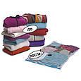 Вакуумний пакет для одягу, це, вакуумний пакет, 80x120 см., для зберігання речей, доставка з Києва, фото 3