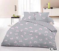 Хлопковое постельное бельё  Бабочки (1,5 сп)