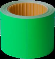 Ценник 50x40 мм, (100 шт, 4 м), прямоугольный, внешняя намотка, фото 3