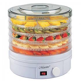 Электрическая сушка для фруктов и овощей Maestro MR 765