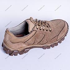 Тактичні Кросівки Літні Legion Перфорація Койот, фото 2
