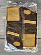 Високі стрейчеві чоловічі носки шкарпетки Marjinal котон антибактеріальний продукт 40-45 6 шт в уп чорні, фото 2