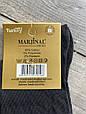Високі стрейчеві чоловічі носки шкарпетки Marjinal котон антибактеріальний продукт 40-45 6 шт в уп чорні, фото 3
