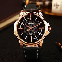 Часы наручные мужские YAZOLE Gold, фото 2