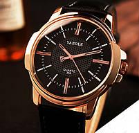 Часы наручные мужские YAZOLE Gold, фото 3
