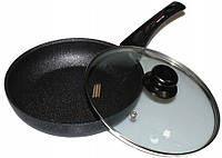Алюминиевая сковорода с антипригарным покрытием Frying Pan Wimpex WX2405 (Teflon) 24 см