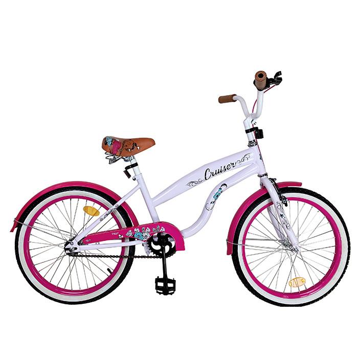 Детский велосипед Cruiser 20, «Tilly» (T-22034), цвет Pink (розовый)