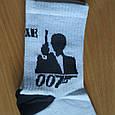 Носки джеймс бонд 007 размер 36-44, фото 3
