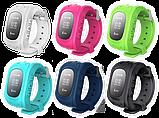Smart baby watch q-50 з GPS трекером, Дитячі смарт годинник, фото 3