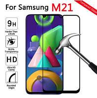 Защитное стекло 3D для Samsung Galaxy M21 M215F (самсунг м21)