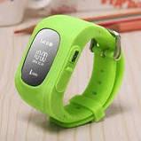 Дитячі смарт-годинник Q50 з GPS трекером Зелені, фото 3