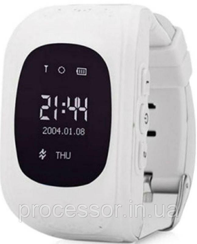 Дитячі смарт-годинник Q50 з GPS трекером Білі