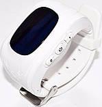 Дитячі смарт-годинник Q50 з GPS трекером Білі, фото 3
