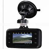 Автомобильный видеорегистратор 360' DVR H-6000 С камерой заднего вида, фото 3