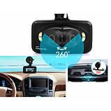 Автомобильный видеорегистратор 360' DVR H-6000 С камерой заднего вида, фото 8