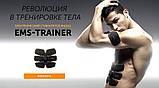 Пояс Ems Trainer 3В1 для преса / Міостимулятор / Пояс Ems-trainer стимулятор м'язів преса + 2 на біцепс, фото 4