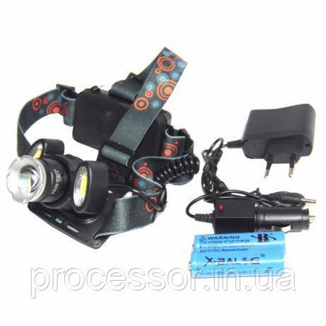 Ліхтарик налобний Police BL-865 T6 COB
