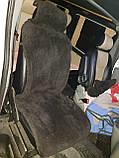 Хутряні накидки з овечої вовни на сидіння,автокрісла Від прооизводителя, фото 6