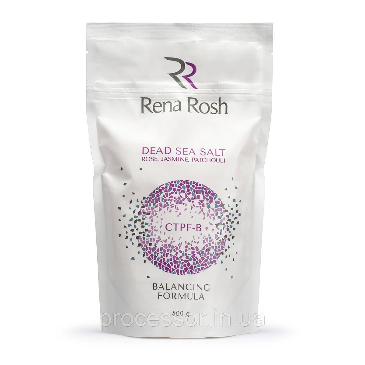 Солі мертвого моря Rena Rosh троянда, жасмин, пачулі, 500Г