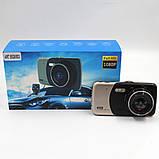 Автомобільний Відеореєстратор Full Hd з камерою заднього виду DVR CD 812, фото 6