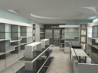 Услуги по проектированию и разработке концепции торговых площадей