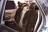Меховые накидки из овeчьeй шерсти на сиденья, автокресло Mehovik, фото 2