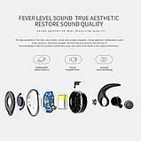Спортивные вакуумные блютуз наушники беспроводные AWEI T-1 Twins Earphones Bluetooth затычки, фото 5