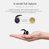 Спортивные вакуумные блютуз наушники беспроводные AWEI T-1 Twins Earphones Bluetooth затычки, фото 6