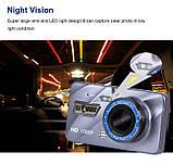 """Відеореєстратор для автомобіля Globus+ Full HD 4"""" LCD WDR Premium Class з виносною камерою заднього виду, фото 5"""