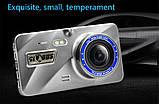 """Відеореєстратор для автомобіля Globus+ Full HD 4"""" LCD WDR Premium Class з виносною камерою заднього виду, фото 8"""