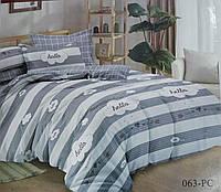 Постельное белье Комфорт текстиль HELLO сатин евро
