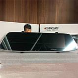 Японский Видеорегистратор-зеркало заднего вида с камерой заднего вида S-3 CAR Mirror DVR 4,3' + Парктроник, фото 5