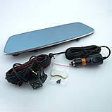 Японский Видеорегистратор-зеркало заднего вида с камерой заднего вида S-3 CAR Mirror DVR 4,3' + Парктроник, фото 10