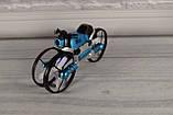 Квадрокоптер-трансформер дрон (квадрокоптер + мотоцикл 2 в 1 - QY Leap Speed PRO) на управлінні, фото 2