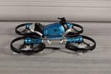 Квадрокоптер-трансформер дрон (квадрокоптер + мотоцикл 2 в 1 - QY Leap Speed PRO) на управлінні, фото 4